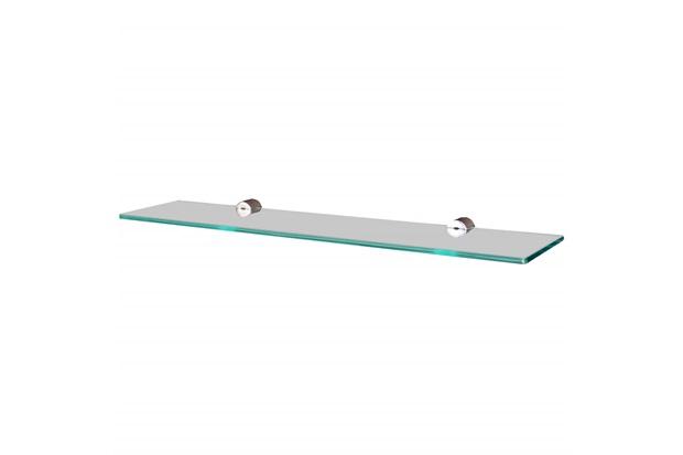 Prateleira em Vidro Reta 50x20cm Transparente - Sicmol