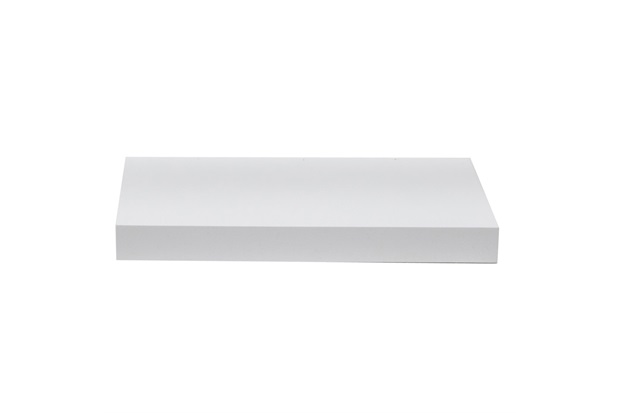 Prateleira Reta Color 40x25cm Branca - Decorprat