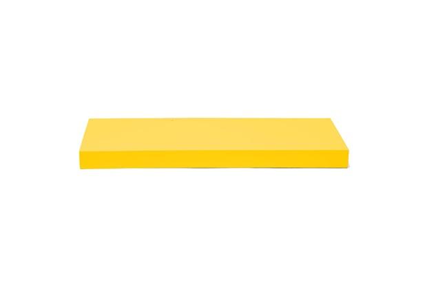Prateleira Reta Color 60x25cm Amarela - Decorprat