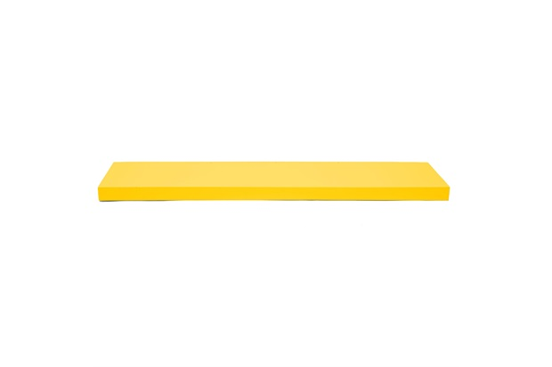 Prateleira Reta Color 80x25cm Amarela - Decorprat
