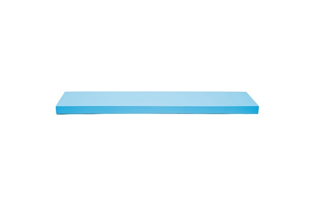 Prateleira Reta Color 80x25cm Azul Tiffany - Decorprat