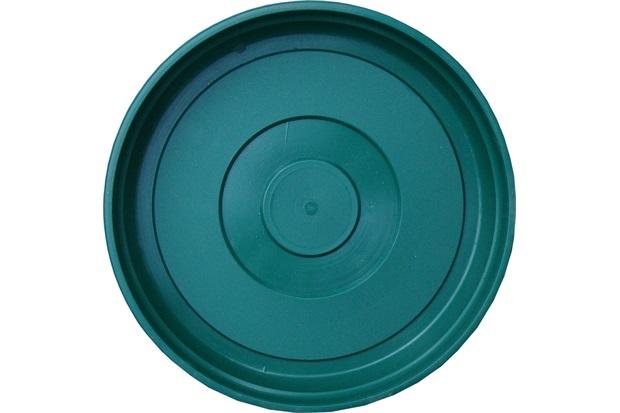 Prato em Plástico para Vaso 20cm Verde - West Garden