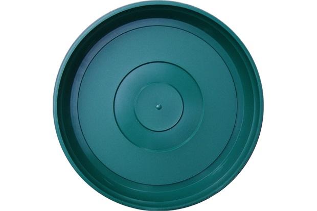 Prato em Plástico para Vaso 22cm Verde - West Garden