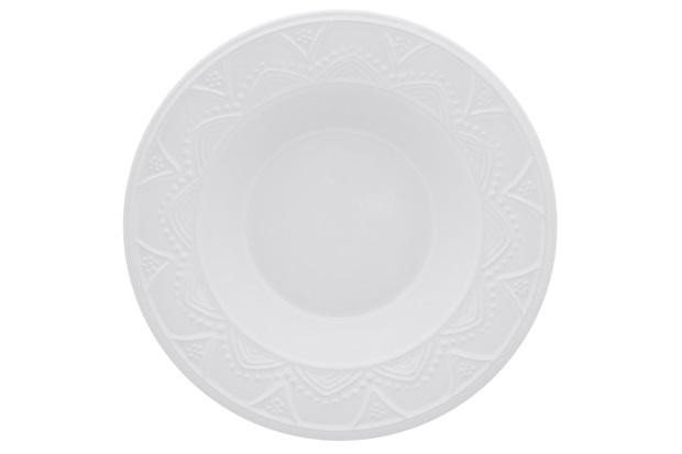 Prato Fundo 23 Cm White Ny01-7600 - Oxford