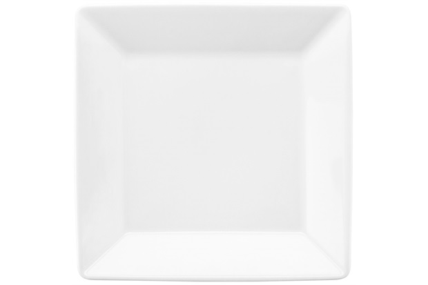 Prato para Sobremesa Quartier White 20cm Branco - Oxford