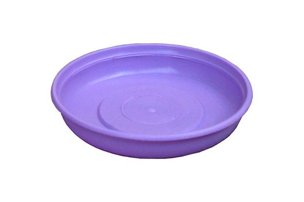 Prato para Vaso de Plantas 12cm Violeta - West Garden