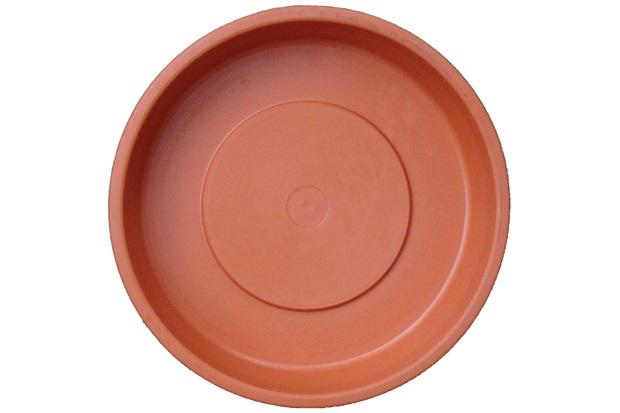 Prato para Vaso de Plantas 18cm Terracota - West Garden