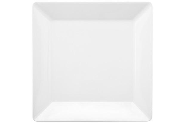 Prato Raso Quartier White 26,5cm Branco - Oxford