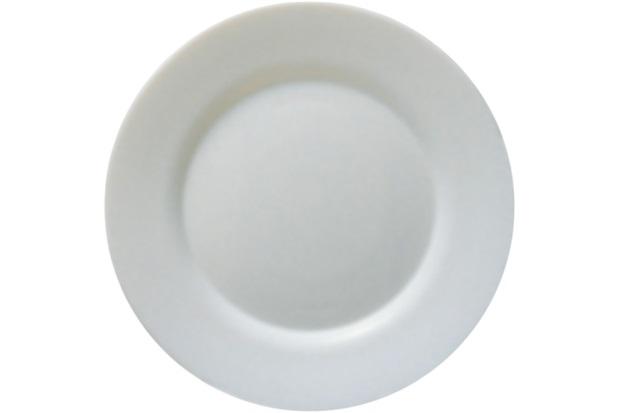 Prato Sobremesa Toledo Branco 20cm - Globimport