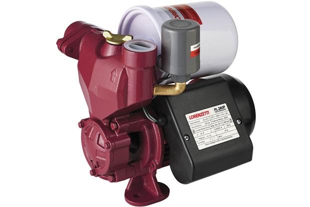 Pressurizador Bivolt Pl 280p Vermelho - Lorenzetti