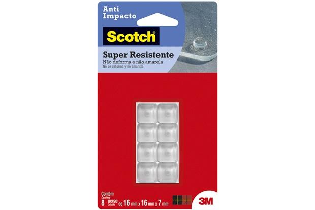 Protetor Anti Impacto Quadrado Transparente - Scotch