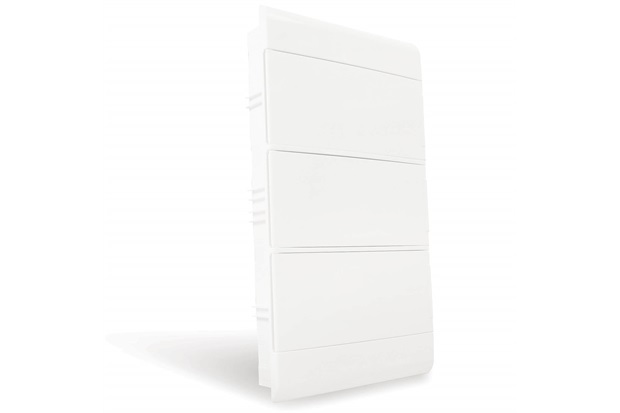 Quadro de Distribuição de Embutir 36 Disjuntores Din Opaca - Steck