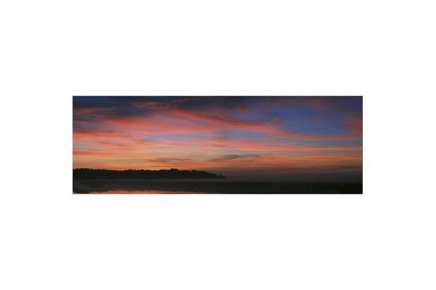 Quadro Decorativo em Vidro Blur Nature 120x40cm - E2G Design