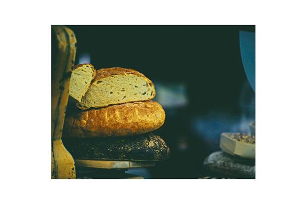 Quadro Decorativo em Vidro Kitchen Pão Italiano 30x40cm - E2G Design