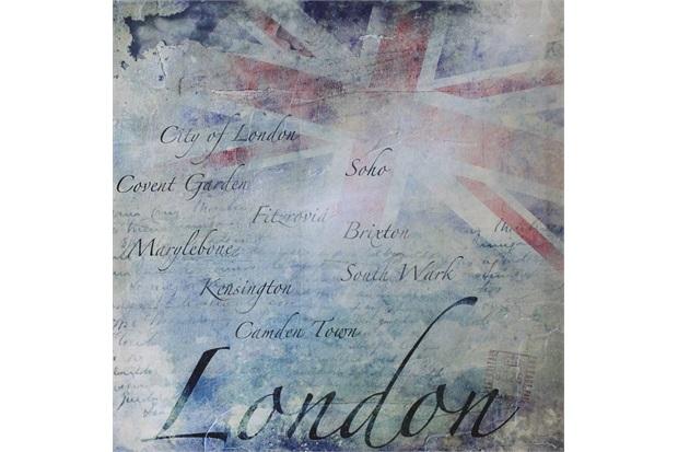 Quadro Decorativo London 50cmx50cm - Importado
