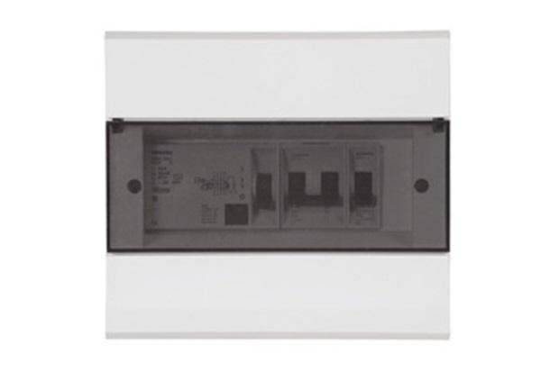 Quadro Exatto 8 Módulos Transparente Ref. 442008 - Iriel