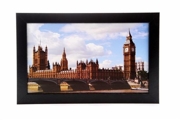 Quadro Ponte Londres 29x19cm - Euro
