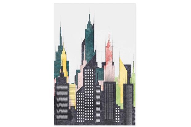 Quadro Telado Cidades Torres 60x40cm - Casanova