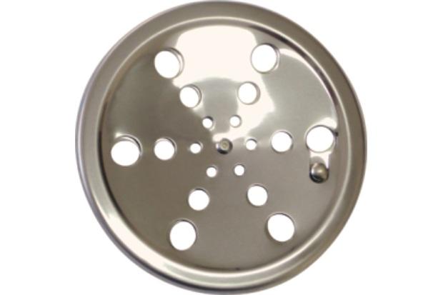 Ralo em Aço Inox Redondo sem Caixilho 10cm Cromado  - Aminox