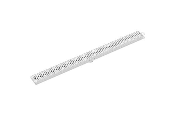 Ralo Linear com Grelha 70cm Branca - Tigre