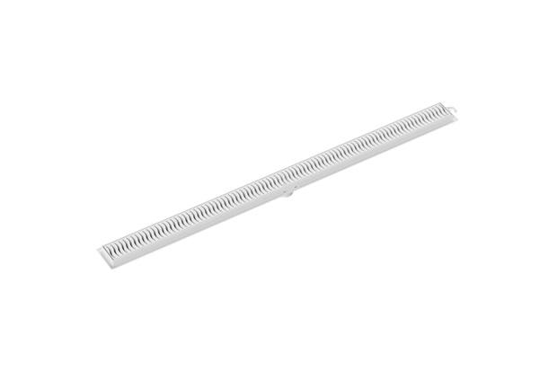 Ralo Linear com Grelha 90cm Branca - Tigre