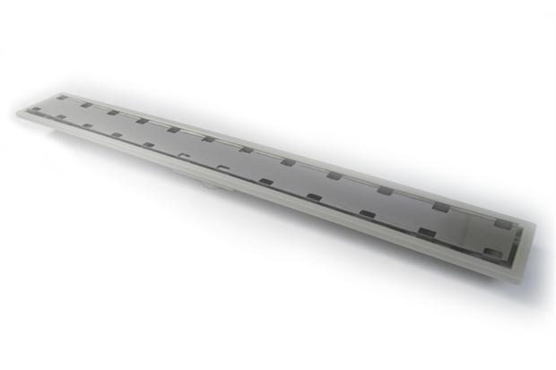 Ralo Linear em Abs com Tampa Oculta Royal 100cm - Elleve