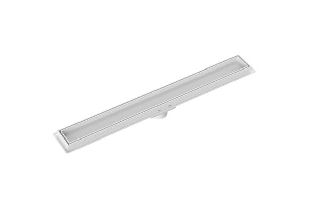 Ralo Linear Invisível 50cm Branco - Tigre