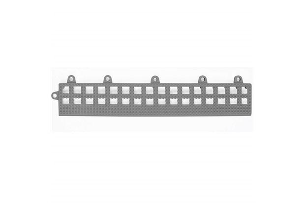 Rampinha para Estrado Flexível em Pvc 30x10cm Cinza com 4 Peças - Impallets