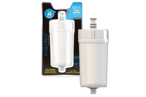 Refil Blindado para Filtro Premium Branco - Acquabios
