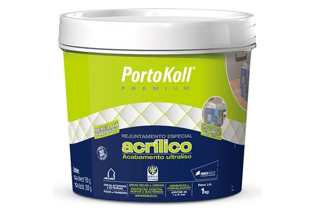 Rejunte Acrilico Areia 1kg Portokoll - Portokoll