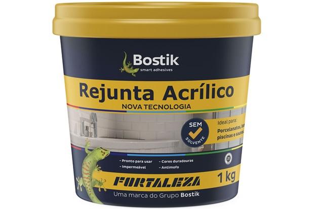 Rejunte Acrílico Bege 1kg - Fortaleza