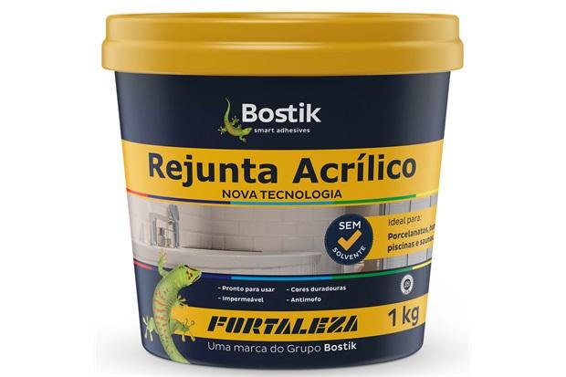 Rejunte Acrílico para Porcelanato 1kg Creme - Fortaleza