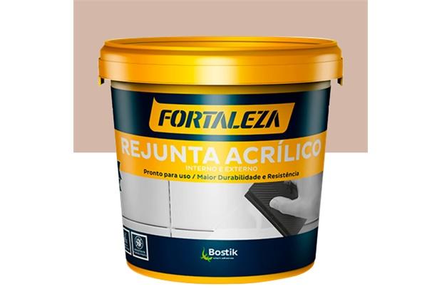 Rejunte Acrílico para Porcelanato Bege 1kg - Fortaleza