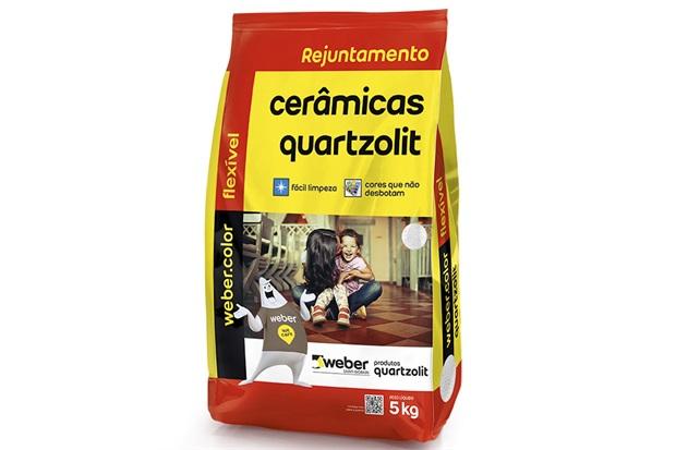 Rejunte Aditivado Flexível Cinza Ártico 5kg - Quartzolit