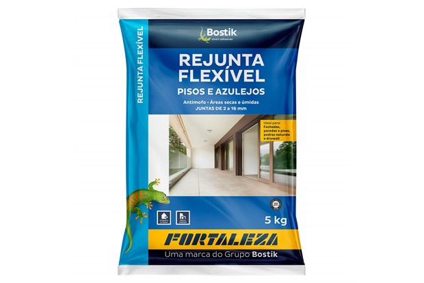 Rejunte Flexível 1mm a 16mm Chocolate 5kg - Fortaleza