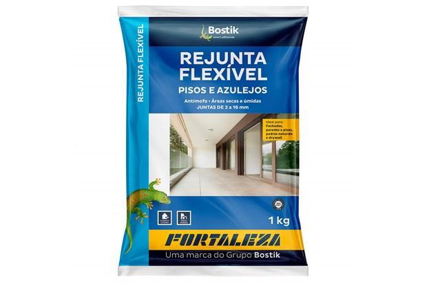 Rejunte Flexível para Pisos E Azulejos Grafite 1kg - Fortaleza