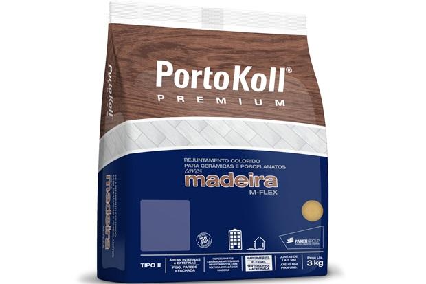 Rejunte para Cerâmicas E Porcelanatos Madeira M-Flex Cedro 3kg - Portokoll