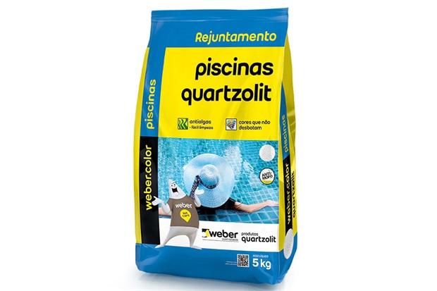 Rejunte para Piscina Branco 5kg - Quartzolit