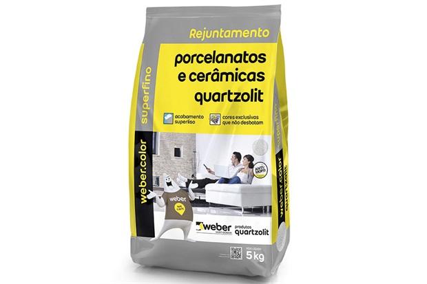 Rejunte para Porcelanatos E Cerâmicas Bege 5kg - Quartzolit