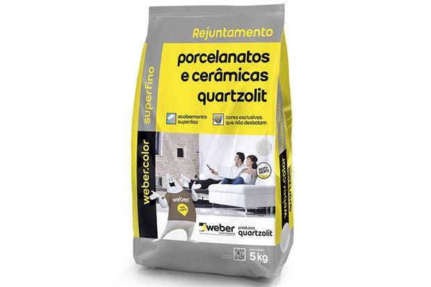 Rejunte para Porcelanatos E Cerâmicas Ypê 5kg - Quartzolit