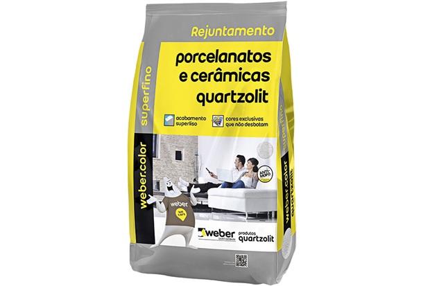 Rejunte para Porcelanatoscerâmicas Corda 5kg - Quartzolit