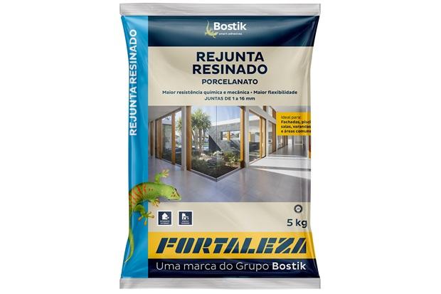 Rejunte Resinado 5kg Cinza - Fortaleza