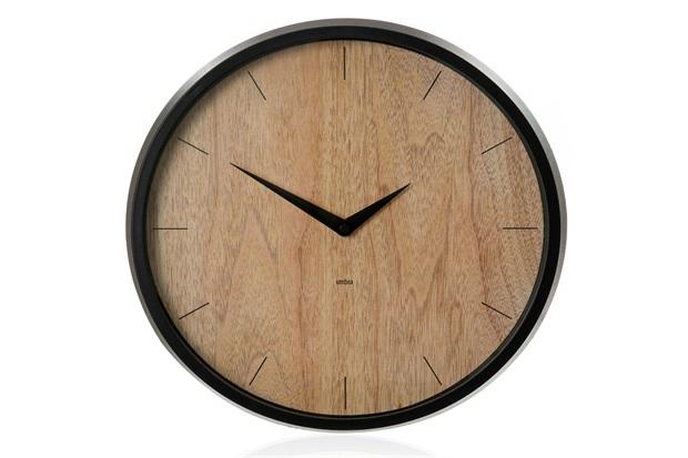 Relógio de Parede Concept 31cm Transparente - Casa Etna