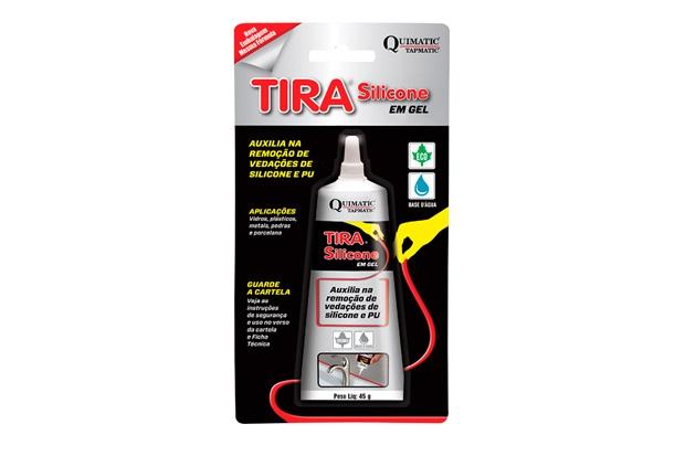 Removedor de Silicone em Gel Tira Silicone 45 Gramas - Quimatic Tapmatic