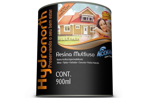 Resina Acrílica Impermeabilizante Multiuso Acqua Incolor 900ml - Hydronorth