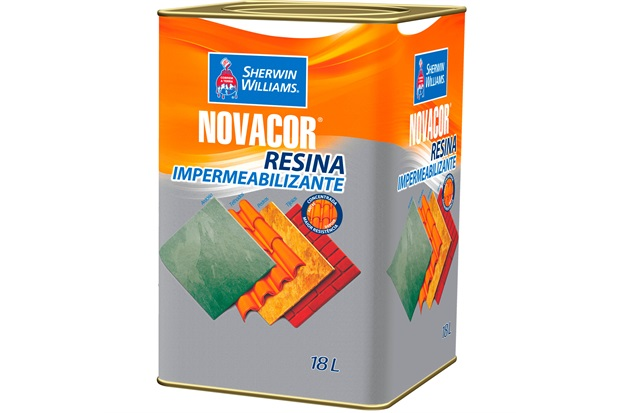 Resina Impermeabilizante Novacor 18 Litros - Sherwin Williams