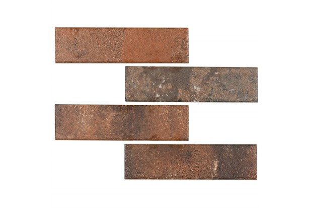 Revestimento Acetinado Borda Bold All Bricks Georgian Blend 7x26cm - Portobello