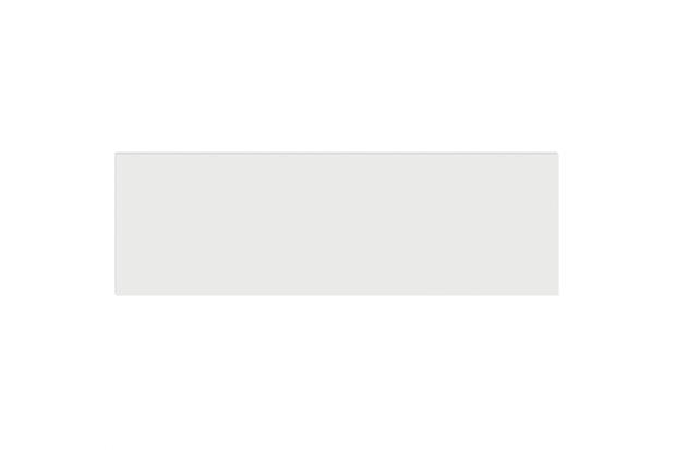 Revestimento Acetinado Borda Bold Decora Matte White 8x25cm - Portinari