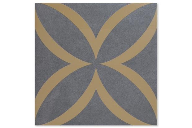 Revestimento Acetinado Borda Bold Patch Yellow 21,5x21,5cm - Incepa