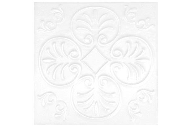 Revestimento Acetinado Borda Bold Viena Bianco 20x20cm - Pierini